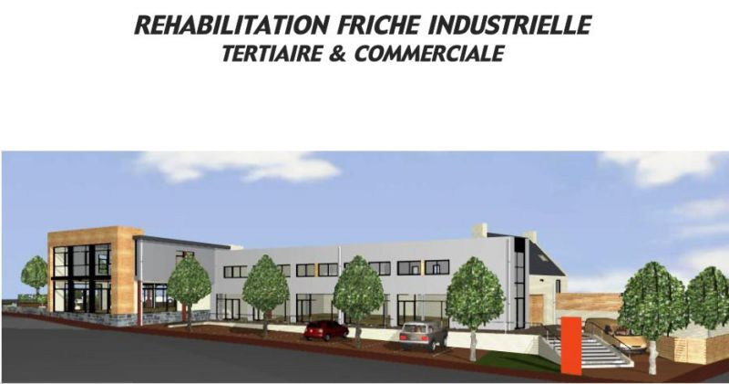 Local commercial Landerneau 200m2
