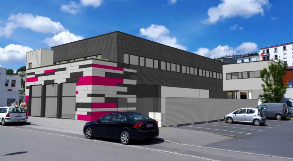 Bureau / local professionnel Brest 500 m2