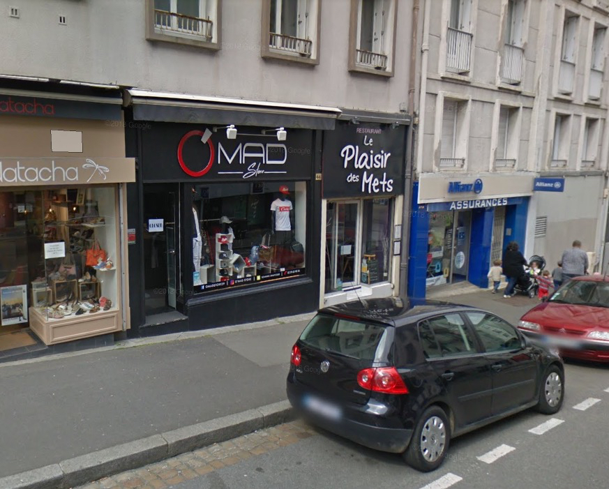 Local commercial  d'environ 50 m2 Brest - triangle d'or