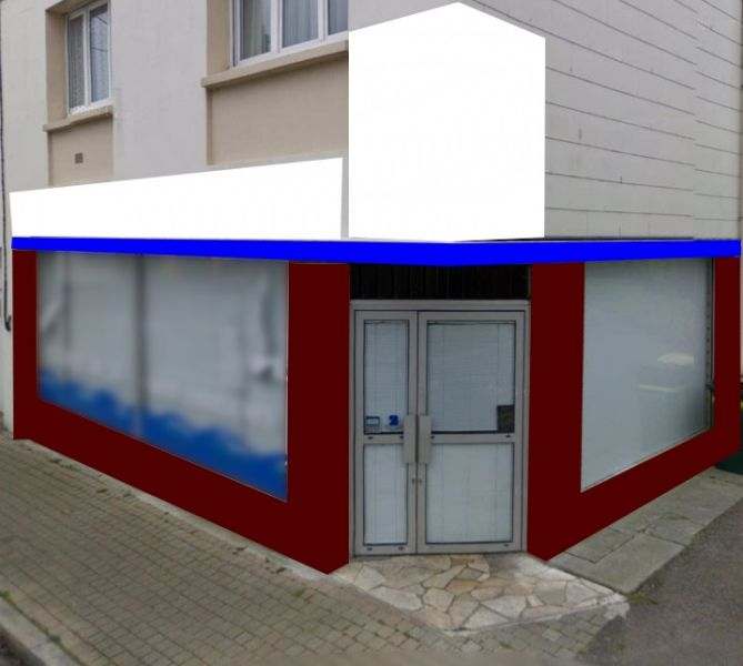Local commercial Guilers 60 m2