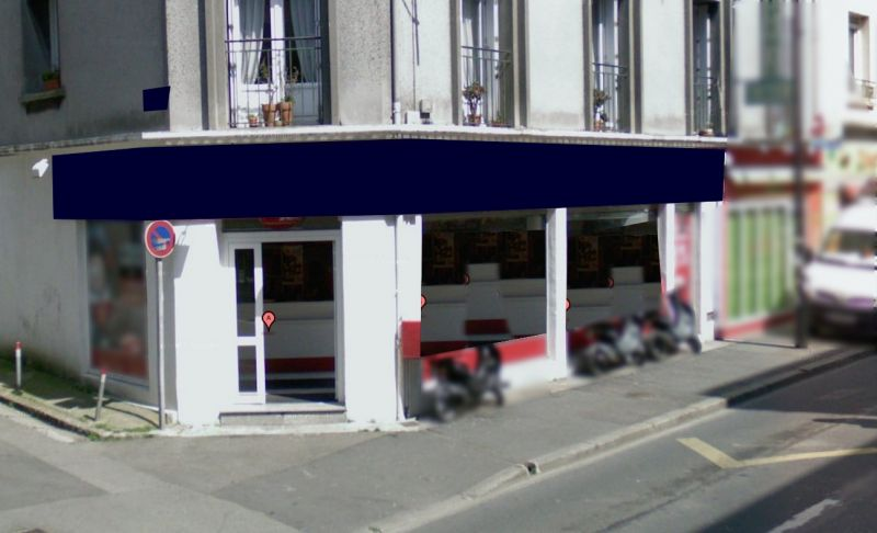Local commercial Brest 92 m2