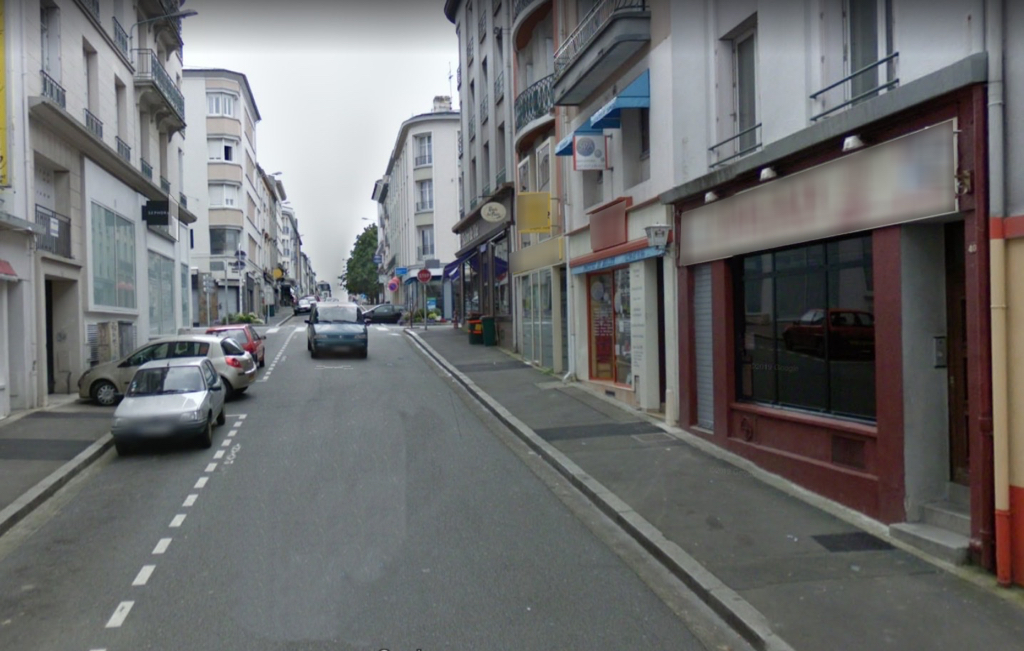 Local commercial  BREST - 54 m2 1/1