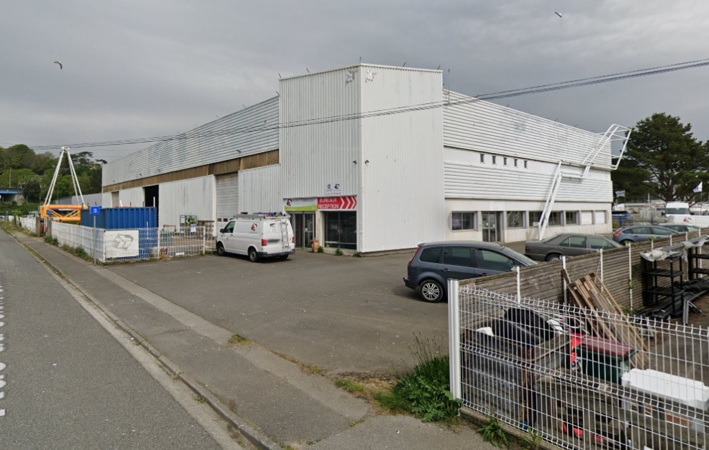 Entrepôt / local industriel Brest 1800 m2 1/1
