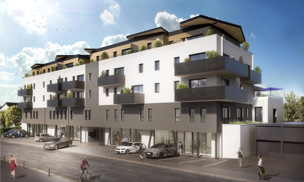 Local commercial Gouesnou 72,92 m2 1/2