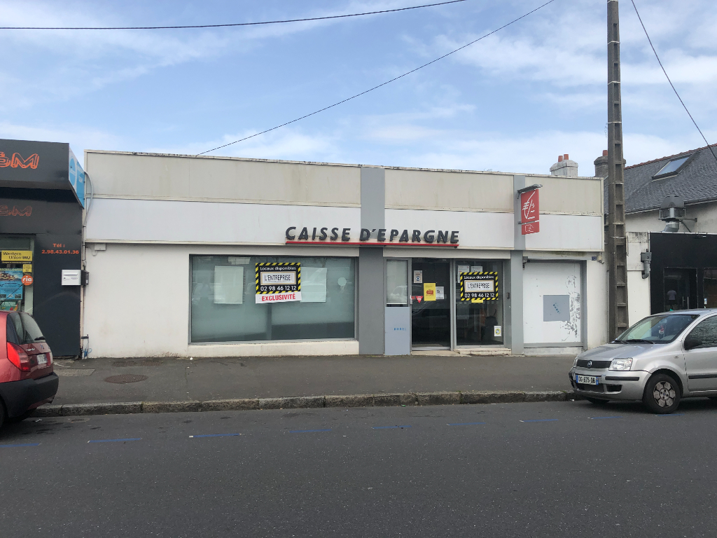 Local commercial Brest 85 m2 1/4