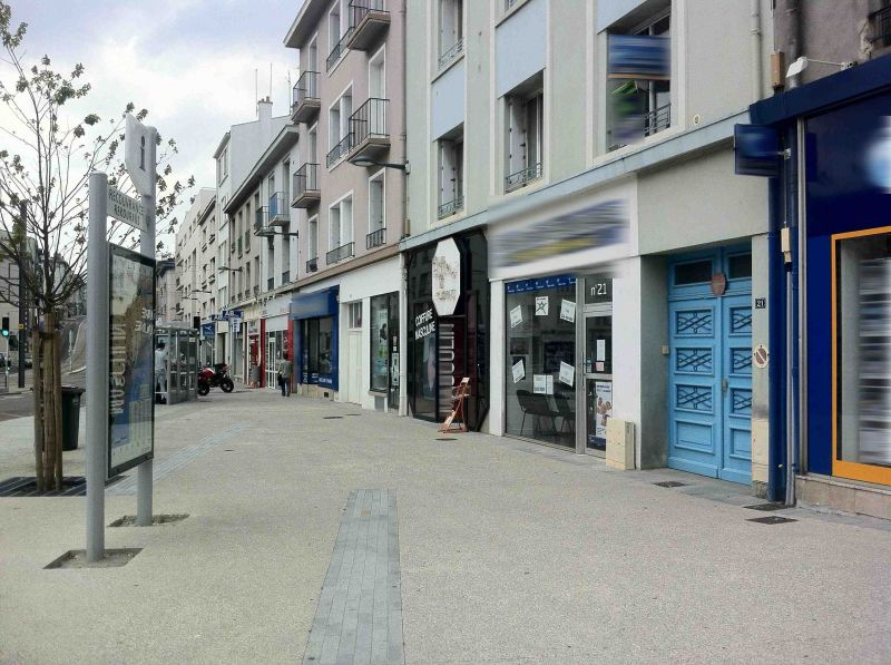 Local commercial Brest 35 m2